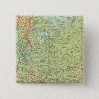 Northern Russia & Finland Pinback Button