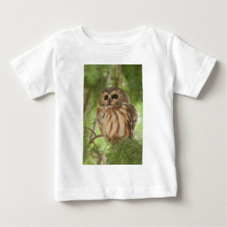 Northern Saw-whet Owl Baby T-Shirt
