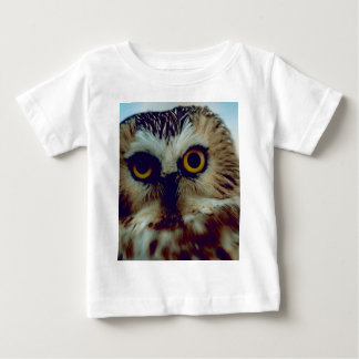 Northern Saw Whet Owl Baby T-Shirt