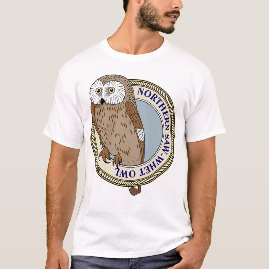 Northern Saw-Whet Owl-M T-Shirt