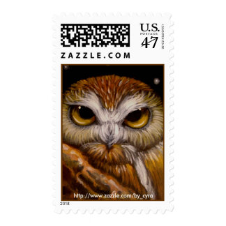 NORTHERN SAW-WHET OWL postage