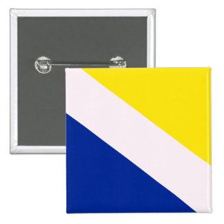 Northern Schleswig, Greenland flag Pinback Button