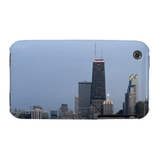Northern section of the downtown Chicago skyline 3 Case-Mate iPhone 3 Case