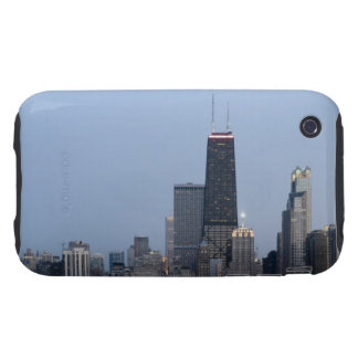 Northern section of the downtown Chicago skyline 3 Tough iPhone 3 Cases