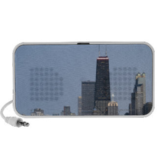 Northern section of the downtown Chicago skyline 3 Portable Speakers