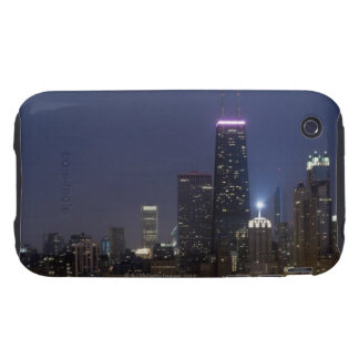 Northern section of the downtown Chicago skyline iPhone 3 Tough Covers