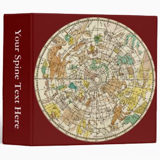 Northern Sky Star Chart and Constellations Map Binder