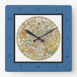 Northern Sky Star Chart and Constellations Map Clock
