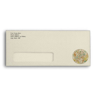 Northern Sky Star Chart and Constellations Map Envelopes