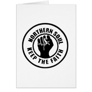Northern Soul Card