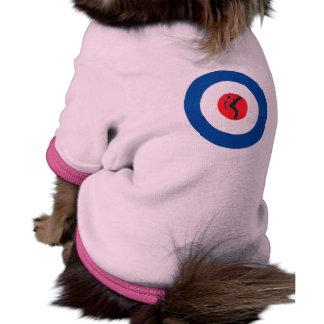 Northern Soul Dancer & Mod Target Dog T Shirt