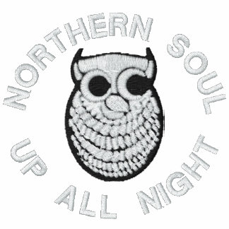 Northern Soul Embroidered hoody