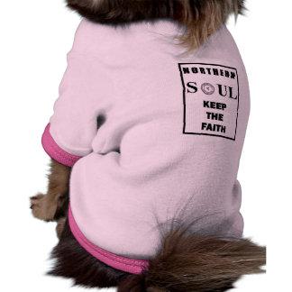 Northern Soul Keep The Faith Design 2 Pet Shirt