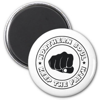 NORTHERN SOUL - KEEP THE FAITH DESIGN.png Refrigerator Magnets