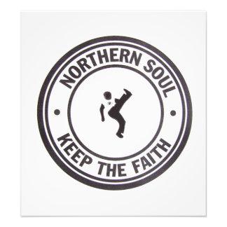 Northern Soul Keep The Faith Slogans & Dancer Photo Print