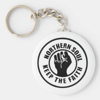 Northern Soul Keychain