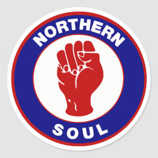 Northern Soul Mod target design Stickers