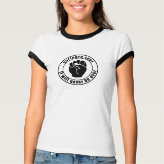 Northern Soul Patch It Will Never Be Over T Shirt