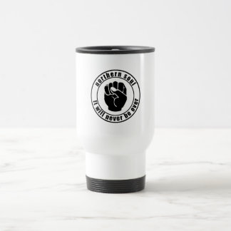 Northern Soul Patch It Will Never Be Over Travel Mug