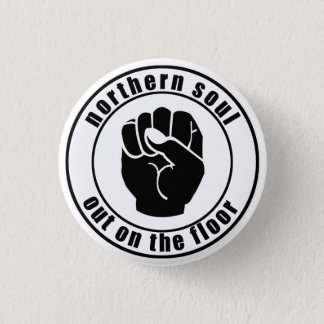 Northern Soul Patch Out On The Floor Button