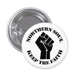 Northern Soul Pinback Button