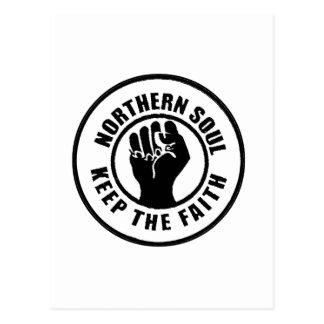 Northern Soul Postcard