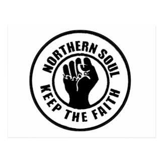 Northern Soul Postcard