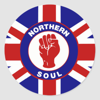 Northern Soul Union jack Stickers