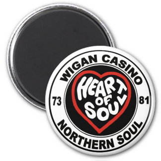 Northern soul Wigan Casino 2 Inch Round Magnet