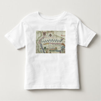 Northern South America, detail from world Toddler T-shirt