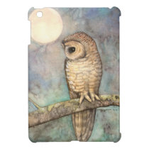 Northern Spotted Owl Art by Molly Harrison Case For The iPad Mini