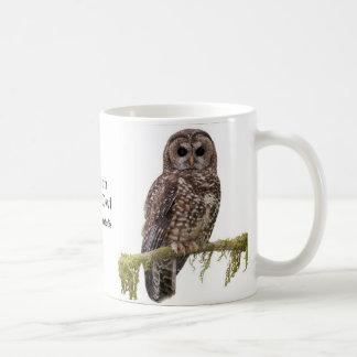 Northern Spotted Owl Coffee Mug