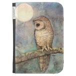Northern Spotted Owl Fine Art Kindle Keyboard Case