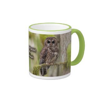 Northern Spotted Owl Coffee Mugs