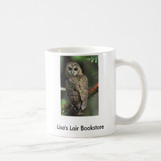 Northern Spotted Owl - Strix occidentalis caurina Classic White Coffee Mug