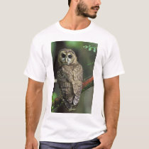 Northern Spotted Owl - Strix occidentalis caurina T-Shirt