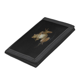 Northern Spring Peeper Trifold Wallet