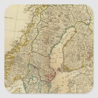 Northern States Scandinavia Square Sticker