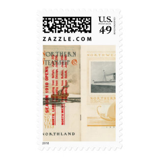 Northern Steamship Company Stamps