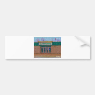 northern store painting by hart bumper sticker
