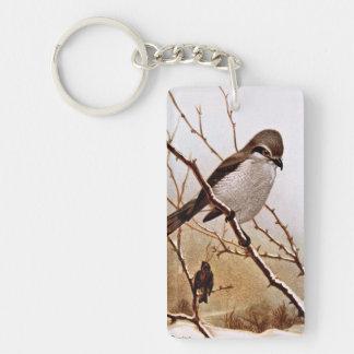 Northern Strike Bird Keychain