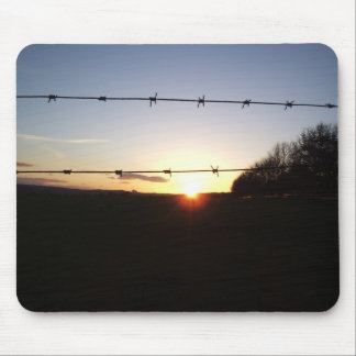 Northern Sun Set Mouse Pad