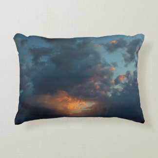 Northern Sunrise Sky and Clouds Summer 2016 Accent Pillow