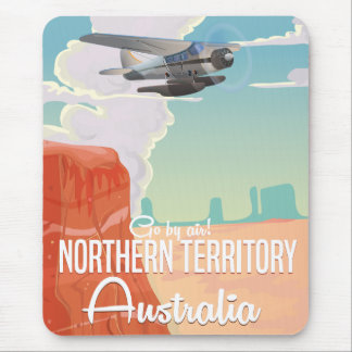 northern territory Australia travel cartoon Mouse Pad