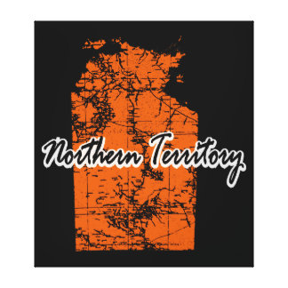Northern Territory Canvas Print