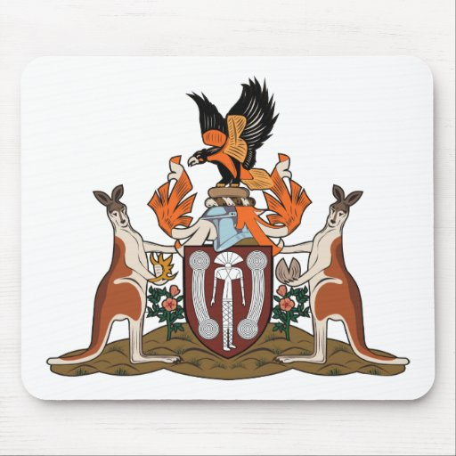 Northern Territory Coat of Arms Mousepad