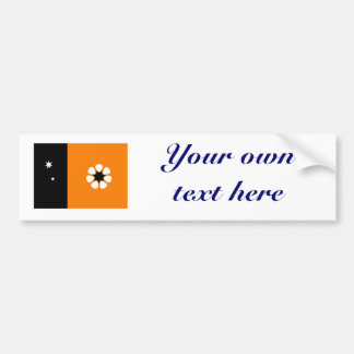 Northern Territory Flag Bumper Sticker