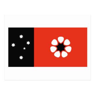 Northern Territory Flag Postcard