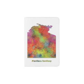 NORTHERN TERRITORY STATE MAP - Passport Holder