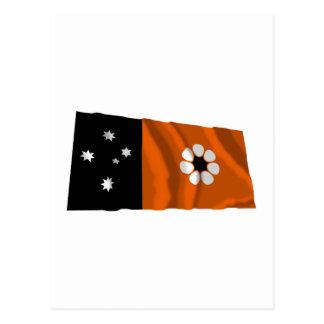 Northern Territory Waving Flag Postcard